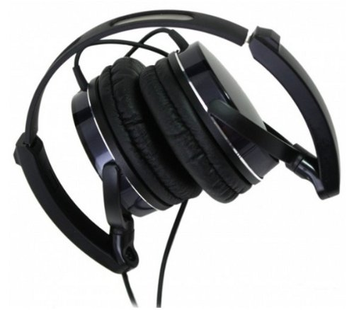 audio-technica ポータブルヘッドホン ブラック ATH-FC707 BK