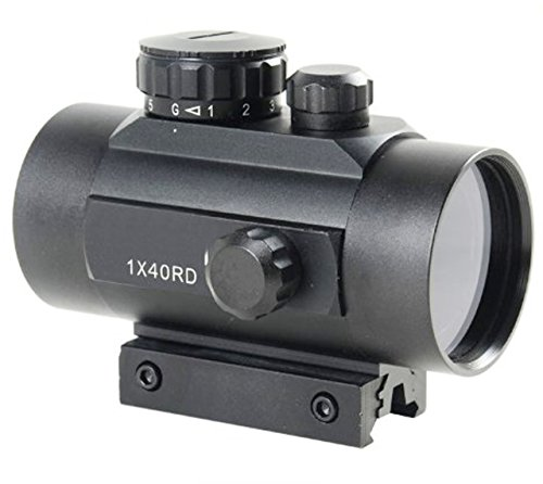 Nuoya001 Hunting 1X40 Red Green Dot Scope Sight/2 Kinds 20Mm Picatinny/Weaver/11Mm Mount