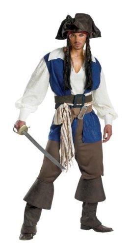 Jack Sparrow Deluxe Costume