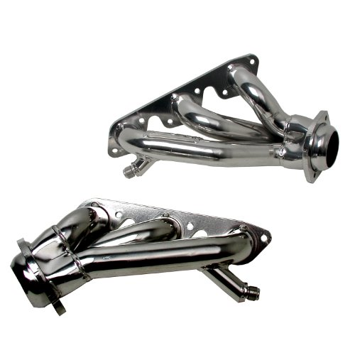 Polished Silver Ceramic Finish BBK 35110 1-5//8 Shorty Tuned Length Performance Exhaust Headers for Ford F Series Truck F150 351