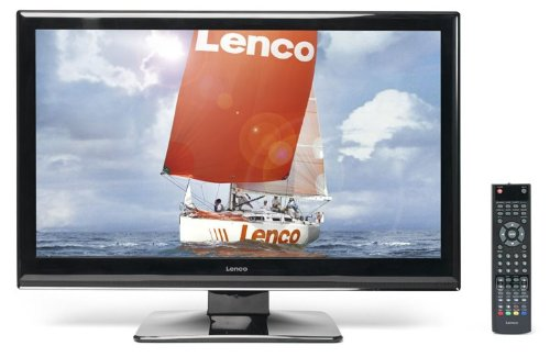 Lenco LED-2411 Full-HD-LCD-Fernseher (61 cm, (24 Zoll) Display, DVB-T, USB 2.0)