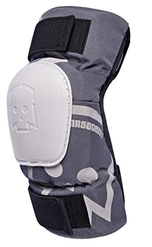 KRKpro*tection MASOCHIST elbow guard pads Grey