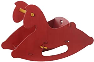 Moover Wooden Rocking Horse (Red)