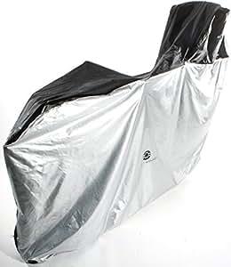Active Winner 自転車カバー 子供乗せ 前後子供乗せ対応 サイクルカバー ラージサイズ(収納バック付)撥水加工 - UV加工 雨・強風の日も安心