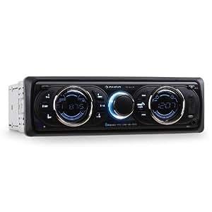 Auna MD d'une autoradio stéréo pour voiture Range connectivité MOSFET Tech & USB SD 4 x 75 watts Max de sortie-Noir