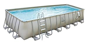 Rectangle above ground soft sided pool for Rectangle above ground pool hard sided