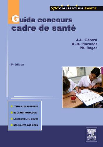 guide concours cadre de santé (5e édition)