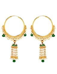 Akshim Multicolour Alloy Earrings For Women - B00NPYAQ2U