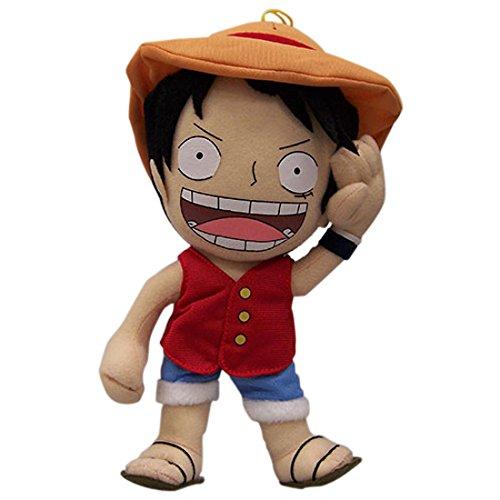 """One Piece: Sd Luffy 10"""" Peluche Toy"""
