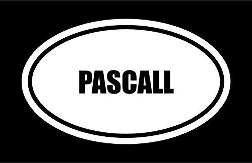 6-die-cut-white-vinyl-pascall-name-oval-euro-style-vinyl-decal-sticker