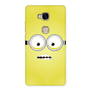Cute Yellows Fun Back Case Cover for Huawei Honor 5X