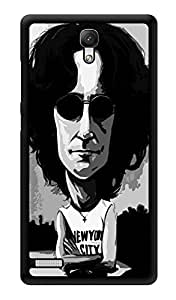 "Humor Gang John Lennon New York City - The Beatles Printed Designer Mobile Back Cover For ""Xiaomi Redmi Note - Xiaomi Redmi Note 4G"" (3D, Glossy, Premium Quality Snap On Case)"