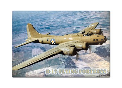 B-17 Flying Fortress Fridge Magnet