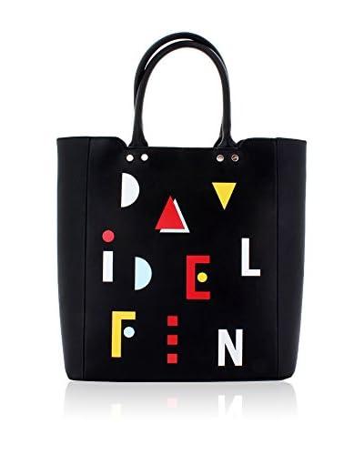 davidelfin Bolso shopping Name Game Negro