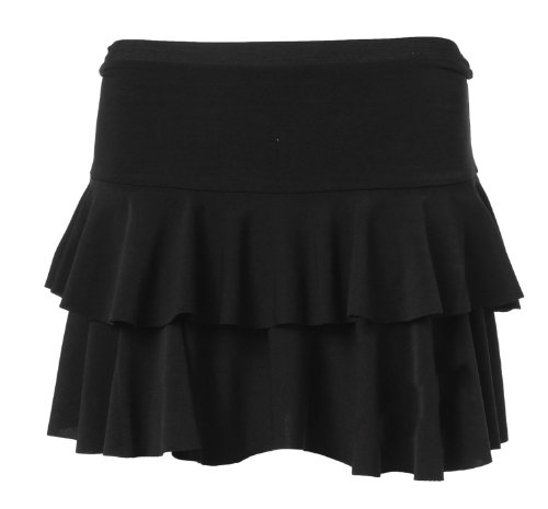 Women's Floricient Neon Jersey Mini Ra-ra Skirt - many colors.