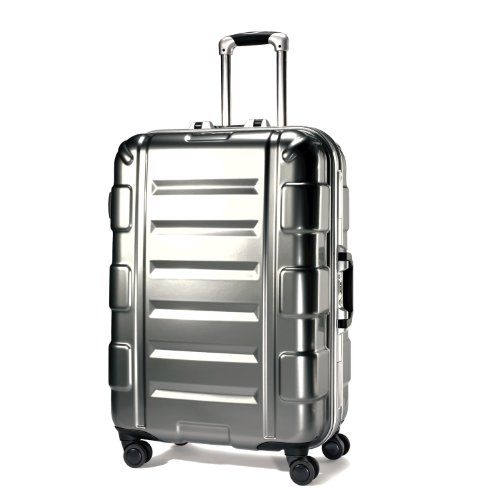 Samsonite Luggage Cruisair Bold Spinner Bag, Silver, 26 best offers