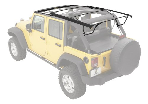 Bestop 55001-01 Black Factory Style Bow Kit For 07-12 Wrangler Jk Unlimited