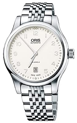 Oris Classic Date Mens Watch 733 7594 40 91 Mb