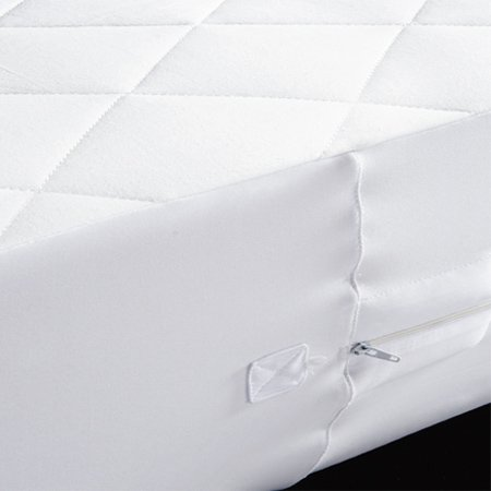 Twin Extra-Long Size 16'' Drop Encasement Mattress Protector 39X80''+16''-Aller Safe Collection front-1022090