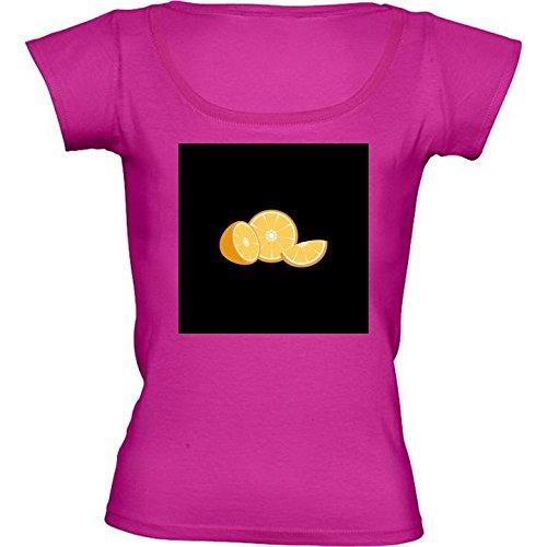 t-shirt-pour-femme-rose-fushia-col-rond-taille-l-tranche-dorange-by-ilovecotton