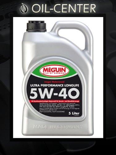 Meguin Megol 5W-40 Ultra Performance 5 Liter