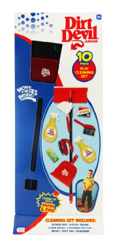 Dirt Devil Junior 12 Piece Cleaning Set (Closed Box)