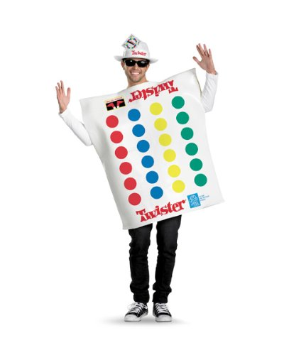 [Twister Game Deluxe Costume Adult 42-46] (Twister Game Costumes)