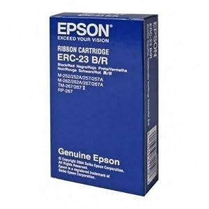 Epson Ruban d'impression 1 x noir, rouge