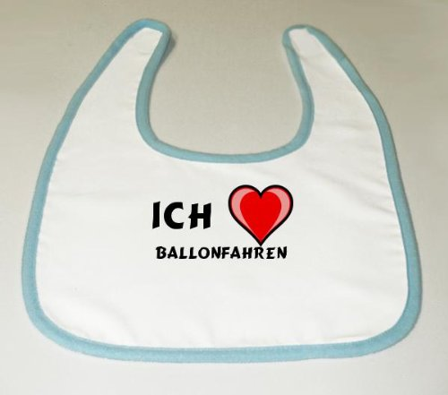 Baby L&#228;tzchen mit Ich liebe Ballonfahren (Sport)