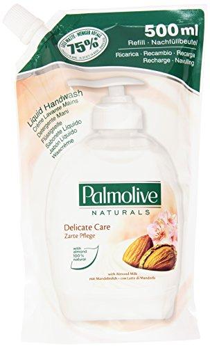Palmolive - Naturals Ricarica Detergente Mani, con Latte di Mandorla - 500 ml