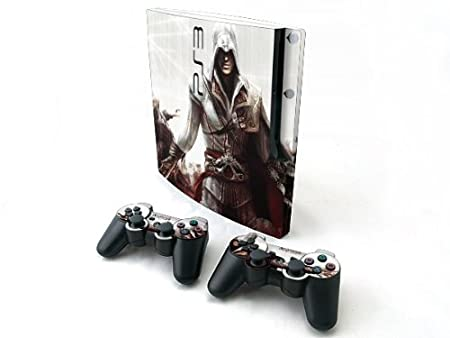Assassin Creed 2 Skin For Sony PS3 Slim &2 Control Y139