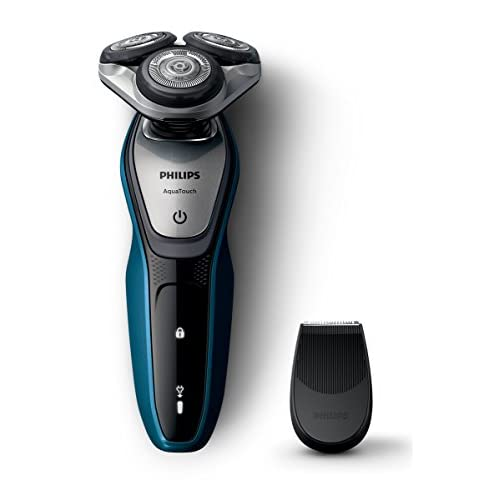 Philips S5420 06 Series 5000 Aqua Touch Electric Shaver with Smart Click Precision Trimmer