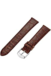 MICHELE Women's MS18AN010278 Analog Display Brown Watch Band