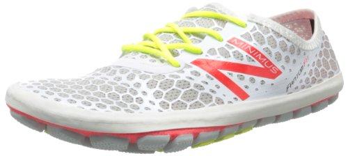New Balance Women's WR1 Minimus Running Shoe,Silver/Pink,6 B US