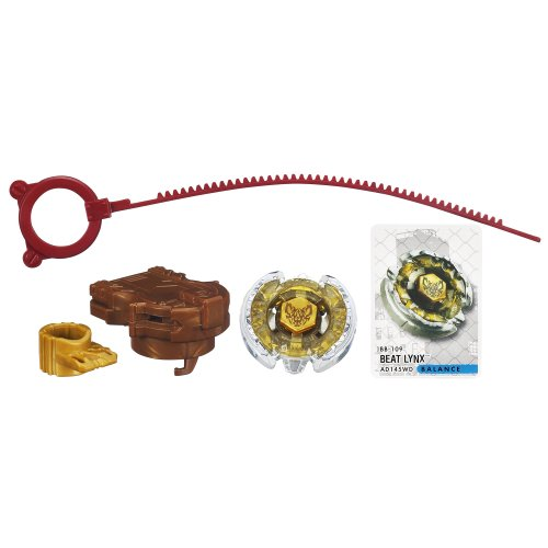 Beyblade Metal Fury Bb-109 Beat Lynx Ad145wd Top