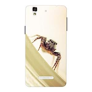 Inkif Printed Designer Case Mobile Back Cover For Micromax Yureka