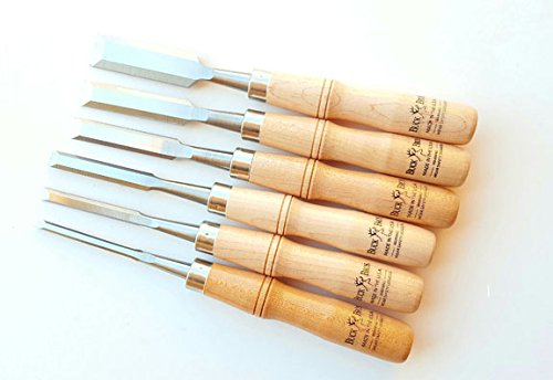 6 Pc Firmer Chisel Set