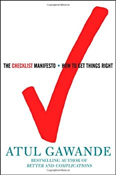 "Cover of ""The Checklist Manifesto: How to..."