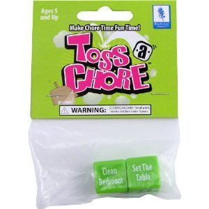 Toss A Chore - Family Dice Game