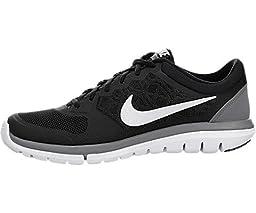 Nike Men\'s Flex 2015 Rn Black/White/Cool Grey Running Shoe 9.5 Men US