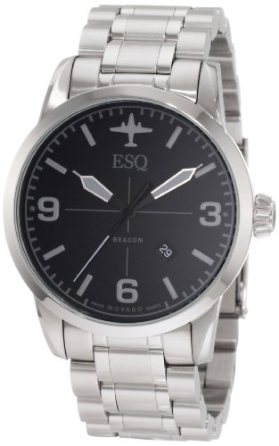 MOVADO Watch:ESQ by Movado Men's 07301394 Beacon Watch Images