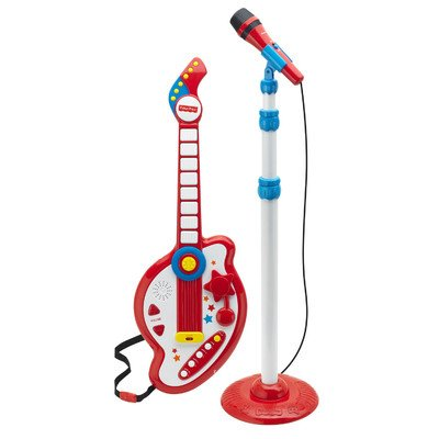 Fisher Price Rock Star Guitar And Mic Set