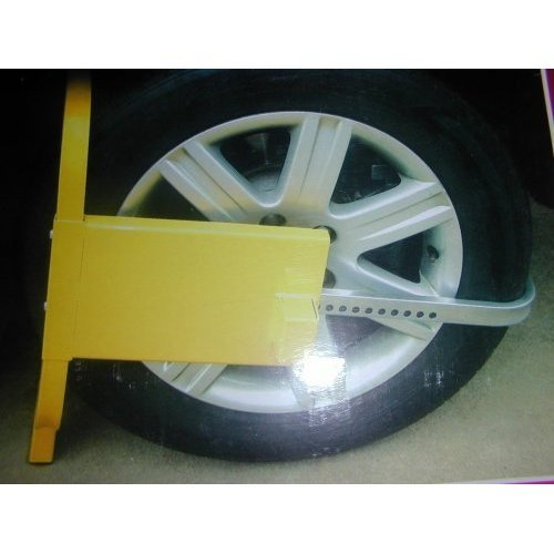 Strong Car Security Wheel Clamp. Also for Caravan Trailer Boat