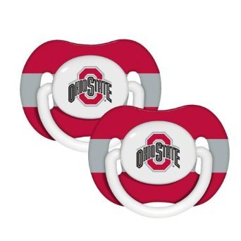 Ncaa Ohio State University Baby Fanatic Pacifiers (2-Pack) front-1033991