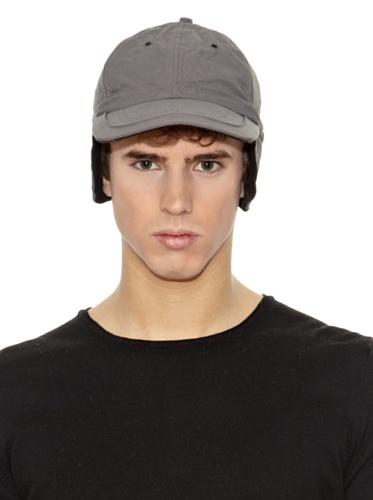 techno-teflon-berretto-con-paraorecchie-berretto-da-baseball-copriorecchie-taglia-unica-grigio