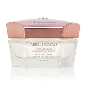 Guerlain Abeille Royale Intense Restoring Lift Neck and Decollete Cream SPF 15 for Women, 1.6 Ounce