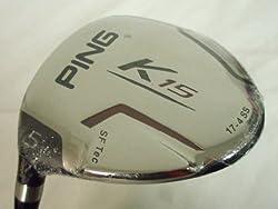 Ping K15 5 wood 19* (Graphite TFC Regular) LEFT 5w Fairway Golf Club LH