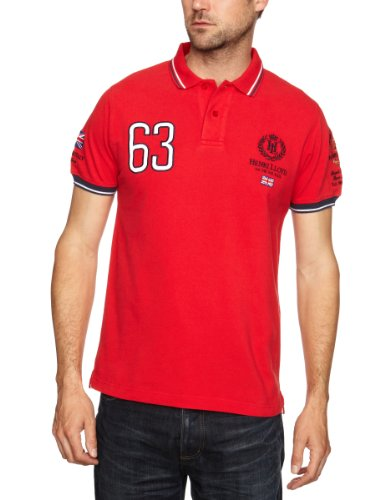 Henri Lloyd GB RWR Polo Men's Shirt Marine Red Small