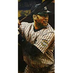 Buy Yankee Triple Threat Suite - 3 pc Suite - ARod Jeter Rivera 41 x 21 each Signed and Numbered...