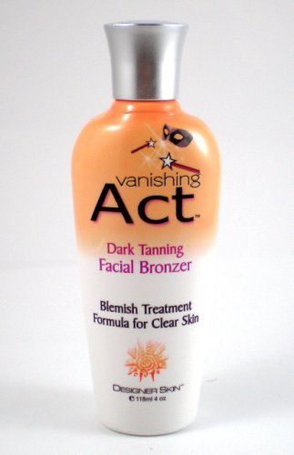 Designer Skin Vanishing Act Tanning Lotion for Face Facial Tanning Lotion